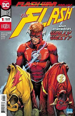 Dc Universe The Flash #1 Annual Flash War Prelude Sold Out