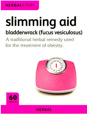 Herbal Store Slimming Aid X 60 Tablets For Weight loss Water Retention