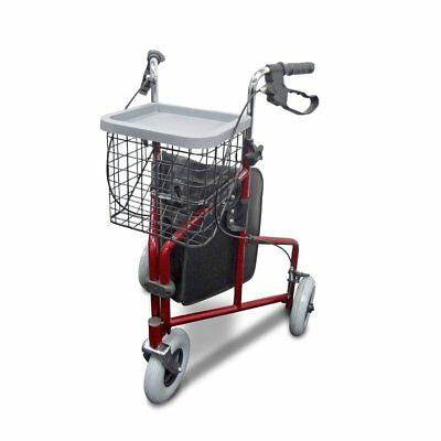 Tri-Wheel Wheeled Walker Rollator - Ideal for negotiating tight spaces, with enh