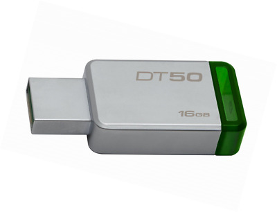 Kingston DataTraveler 50 - DT50 - clé USB 3.0 - 16 Go