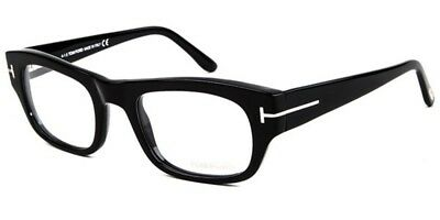 New Tom Ford Tf 5415 001 Eyeglasses Black Authentic Rx Frame Ft5415 50-21