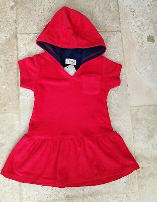 NEXT NEW with tags red towelling dress 12-18 months