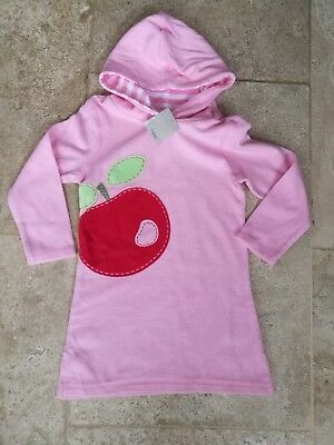 NEXT NEW with tags pink apple applique towelling dress 18-24 months