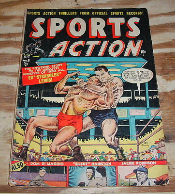 Sports Action #9 very good 4.0