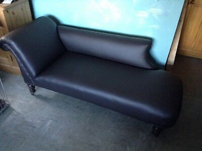 Antiquies Chaise Longue  in leather