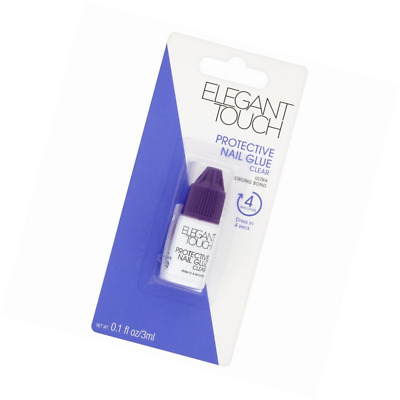 Elegant Touch 5 Second Protective Colle pour Faux Ongles 3 ml