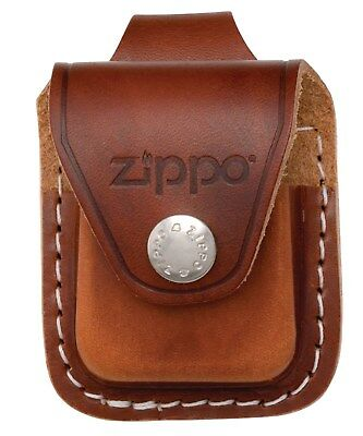 Zippo Lighter Pouch with Loop - Brown LPLB