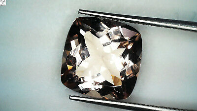 1x Morganit - Cushion facettiert 2,82ct. 9,0x9,0x5,6mm (1436N)