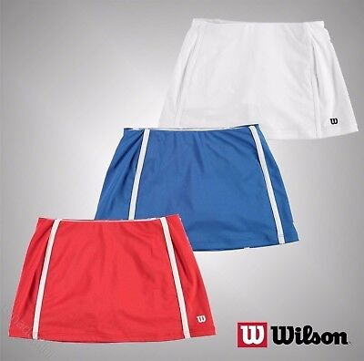 Junior Girls Branded Wilson Lightweight Tennis Badminton Skirt Size Age 6-13