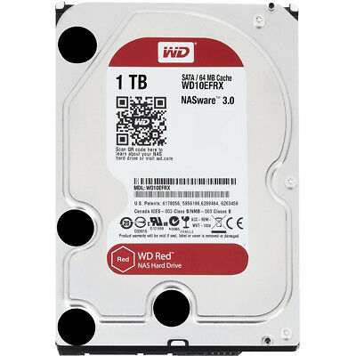 Western Digital Red 1 TB 3.5 inches 6Gb/s 64MB Internal Hard Drive - WD10EFRX