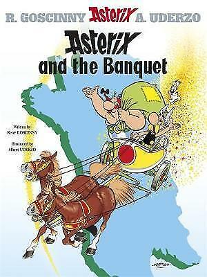 Asterix and the Banquet (Asterix (Orion Hardcover))-ExLibrary