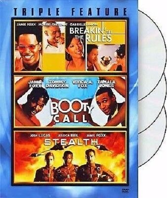 Jamie Foxx - Triple Feature - Breakin All The Rules / Booty Call / Stealth *NEW*