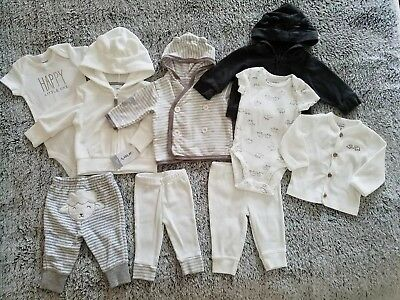 CARTER'S/BABY GAP/RENE ROFE- Gender Neutral Clothing Lot- NWT & EUC- 3 Months