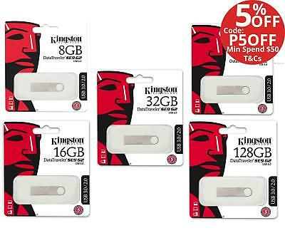 Kingston 16GB 32GB 64GB 128GB DataTraveler SE9 DTSE9G2 Metal USB 3.0 Flash Drive