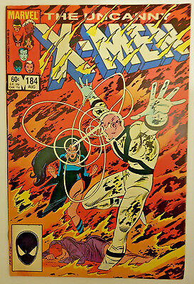 Marvel Comics UNCANNY X-MEN #184 - 1st appearance of FORGE 1984