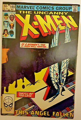 Marvel Comics UNCANNY X-MEN #169 - 1st appearance of Callisto & Morlocks 1983