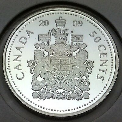 2009 Proof Canada 50 Fifty Cents Half Dollar Canadian Coin Not In Case D740