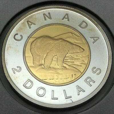 2006 Proof Canada 2 Two Dollar Toonie Canadian Coin Not In Case D743