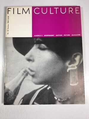 """Film Culture Magazine- #33 Summer 1964 Andy Warhol """"A Lavender Filter Throughout"""