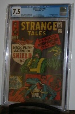 Strange Tales #135, CGC 7.5, 1st Appearance of Nick Fury