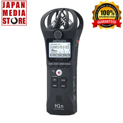 ZOOM H1n Linear PCM Portable Digital Handy Recorder 100% Genuine Product