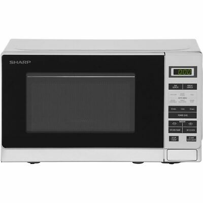 Sharp Microwave R220SLM 800 Watt Microwave Free Standing Silver New from AO
