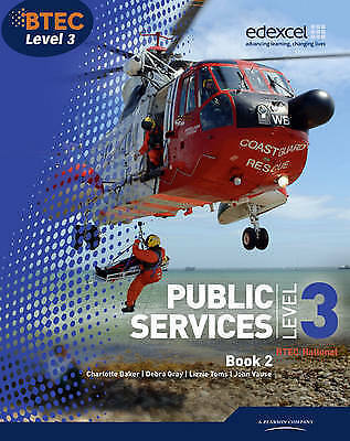 Btec Level 3 National Public Services 2. Student Book-ExLibrary
