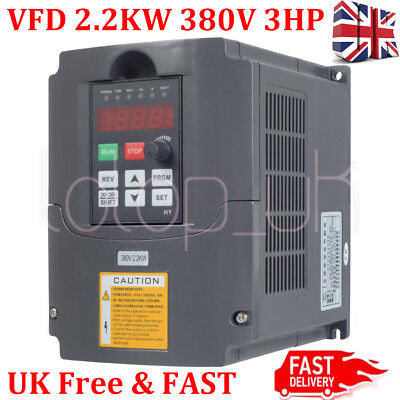 3HP Frequency Inverter Variable Frequency Driver Inverter VFD 2.2KW 380V 3phase