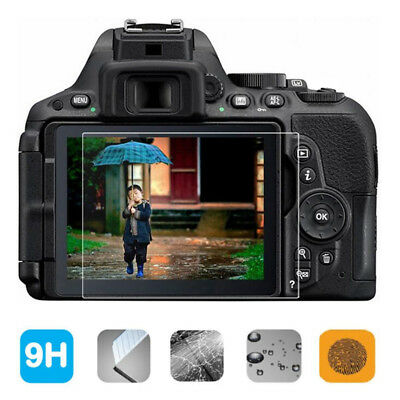 9H Hardness Tempered Glass Screen Cover Protector For Nikon D5300 D5500 D5600