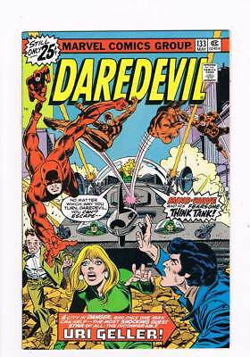 Daredevil # 133 Mind-Wave and His Fearsome Think Tank ! grade 9.2 scarce book !!