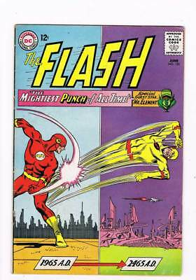 Flash # 153 The Mightiest Punch of All Time ! grade 5.5 scarce book !!