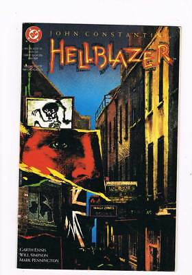 Hellblazer # 41 Dangerous Habits Part I of IV ! grade - 7.5 scarce book !!