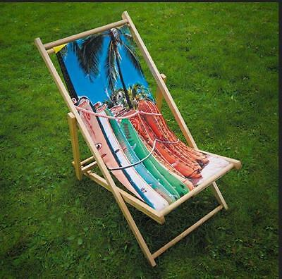 Custom printed Deck Chairs and Director Chairs, Personalised,  outdoor & indoor