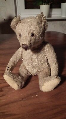 Rar Original Alter Steiff Teddy Knopf  Teddy Bear