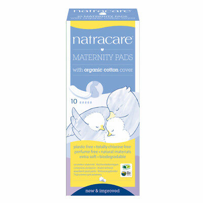Natracare New Mother Vegan Maternity Pads (10)  - Organic Cotton