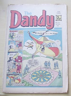 Dandy Comic 1972 Oct 28 Th No 1614 Beano