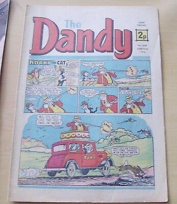 Dandy Comic 1973 June 23 Rd No 1648 Beano