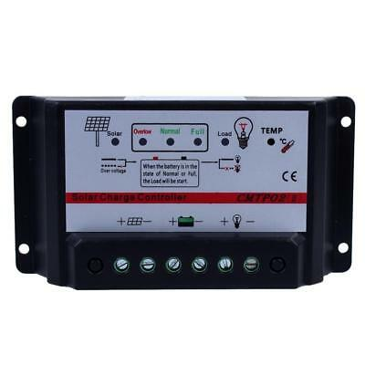 10A Solar Panel Charge Controller 12V/24V MPPT Auto Switch Battery Regulator XX