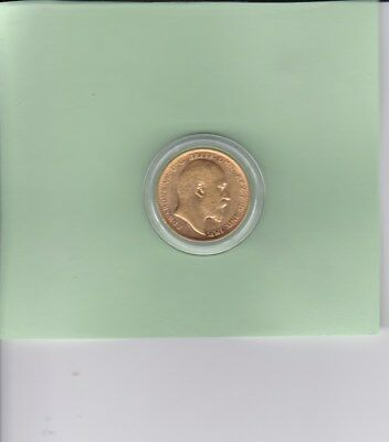 1 only 1905 Gold Sovereign