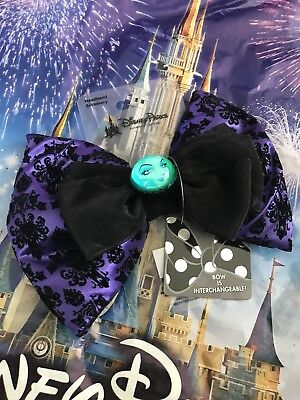 Disney Parks Haunted Mansion Madame Leota Interchangeable Ears Swap Your Bow