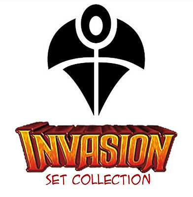 MAGIC Collezione INVASION set (semi completa) Near Mint Ita/Eng mtg