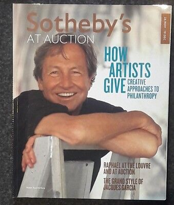 Sotheby's At Auction Magazine: 26 Nov-19 Dec 2012: How Artists Give