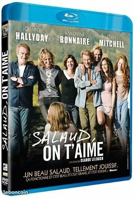 Blu Ray salaud on t'aime Johnny Hallyday NEUF sous cellophane