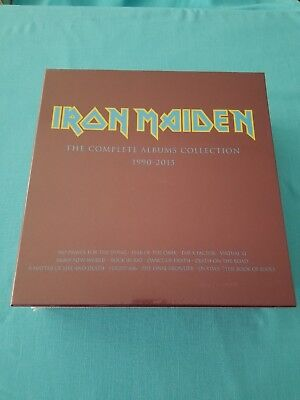 """Iron Maiden """"The Complete Albums Collection 1990-2015"""". (Vinyl, 2 LPs)  2017"""
