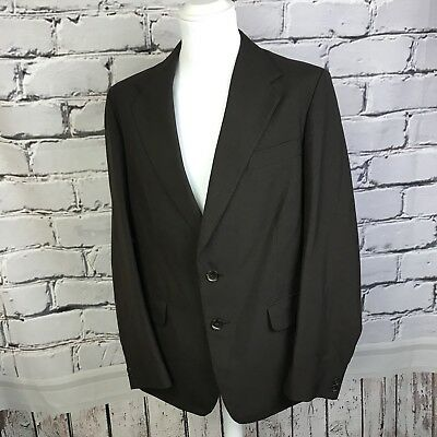 "VTG Mens Brown suit jacket blazer Hepworths Talisman 40"" chest"