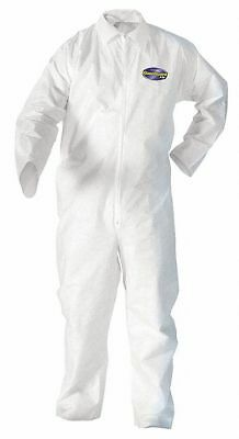 Kimberly-Clark 49005 Kleenguard A20 Coveralls Zip 2xl White 24/carton