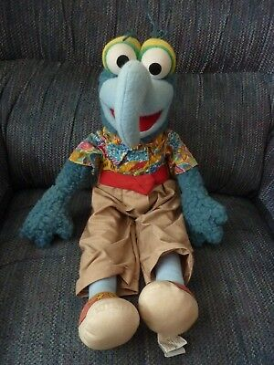 """THE MUPPETS - The Great Gonzo The Great - Vintage 21"""" Plush Doll by Eden"""