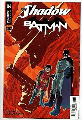 The Shadow / Batman #4 - Cover D (DC/Dynamite, 2017) - New/Unread (NM)