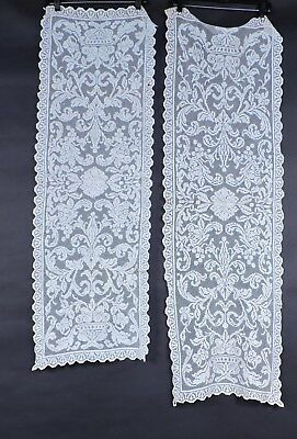 Antique Lace Table Cloth Runner Set