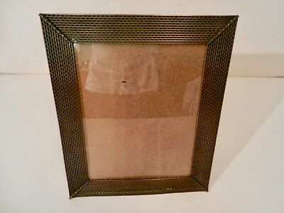 Art Deco, Antique Perforated Bronze Frame, 1940's